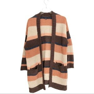 American Eagle Chenille Open Front Cardigan